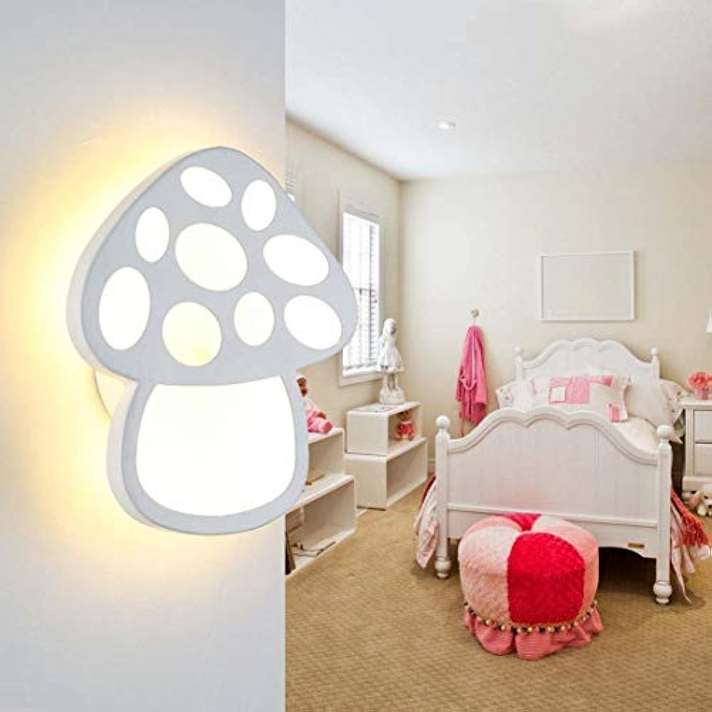 Led Wandleuchte, kreative Acryl Wandleuchte Schlafzimmer Nacht Hotel Engineeringbracket Licht XIAOXAIO (Farbe   Warmes Licht)
