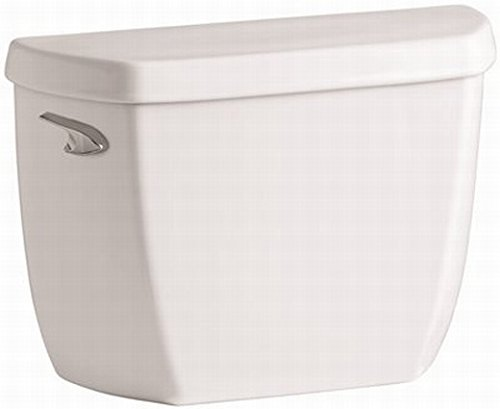 KOHLER COMPANY K-4436-BA-0 115552 1.28 gpf Wellworth Class Five Classic Watersense High-Efficiency Toilet Tank with Left-Hand Trip Lever, White