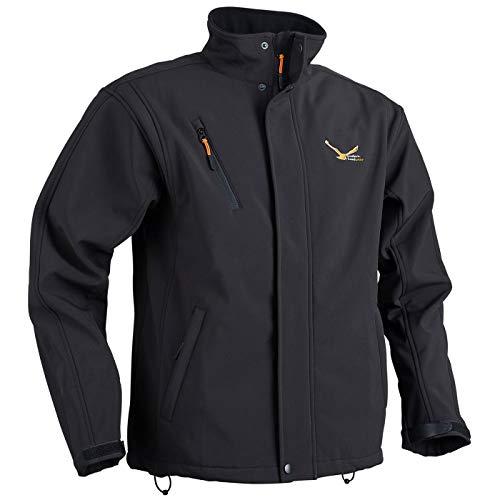 Modern heatwear Softshell-Jacke mit Heizsystem schwarz, beheizbare Jacke