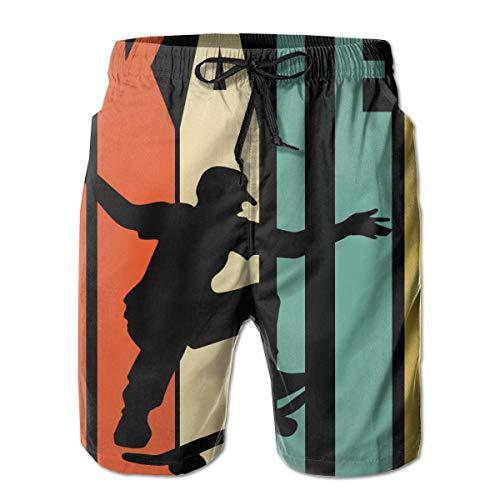 CARATTERISTICHE DEL DESIGN: 2 tasche frontali per riporre i tuoi oggetti essenziali. La cintura elastica fornisce elasticità alla vita. La cintura regolabile regola la vestibilità. USABILITÀ: Indossando questi pantaloni da spiaggia, è possibile forni...