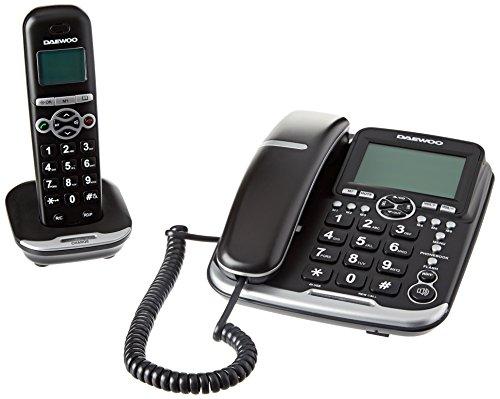 Daewoo Dw0075Combo téléphone DECT avec Fil