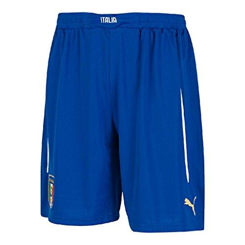 Puma Herren Italien FIGC Home and Away Shorts Replica, Team Power Blue/Away, L, 744298 01