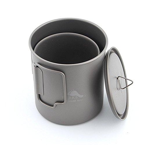 TOAKS Titan 750 ml Topf und 450 ml Cup Combo Set