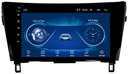 El Reproductor Multimedia De Navegación del Coche GPS Es Adecuado para Nissan QIJUN Qashqai 2013-2016 Android con La Máquina Integrada Bluetooth Touch Completo,4core 4g WiFi:1+32gb