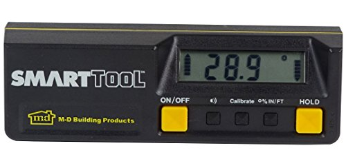 M-D 92346 Smart Tool - Inclinómetro digital (15,24 cm)