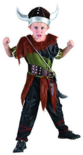 Bristol Novelty- CC786 Costume de Viking pour garçon, Taille, Multicolore, Moyen
