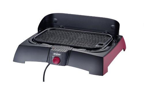 Severin PG 2786-400 Barbecue-Elektrogrill inklusiv Grillbuch / Tischgrill / antihaft-beschichtetes Gussrost
