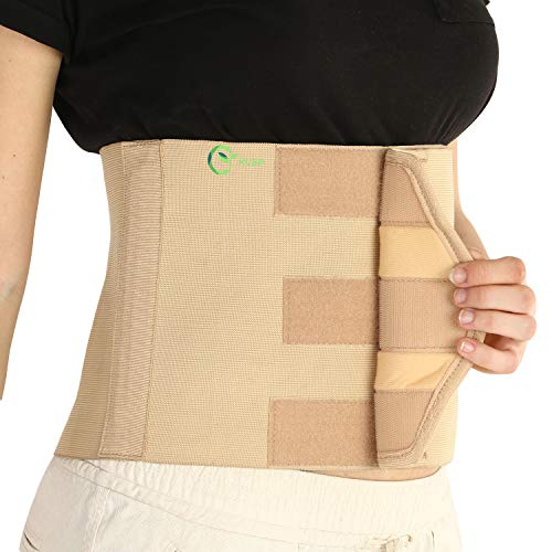 RCSP abdominal belt 9 Inch for women after delivery/surgery putting inside dress tummy reduction S (26-30) Inch