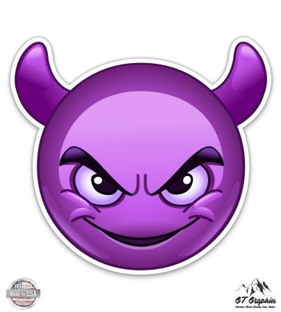 Purple Devil Emoji - 3