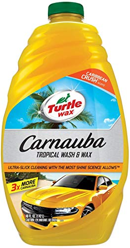 48 oz. Turtle Wax Carnauba Wash & Wax $3.99 & MORE - Amazon