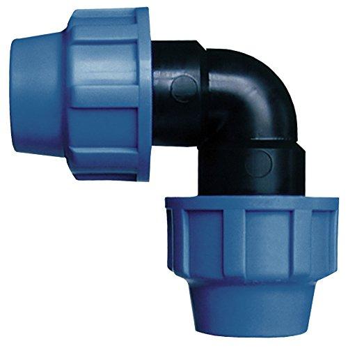 Cornat Bewässerungssystem Winkel PE-Rohr, Ø 25 mm, Polypropylen, für Kaltwasser