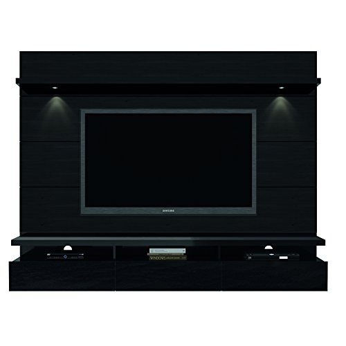 Manhattan Comfort Cabrini Theater Panel 2.2 Collection TV Stand with Drawers Floating Wall Theater...