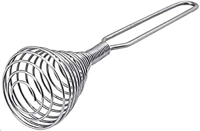 CASTELBELBO mixer, steel wire whipped cream whisk, stainless steel spring coil whisk, gravy mixer