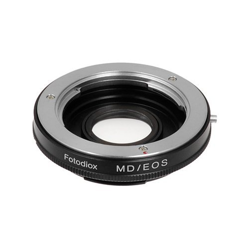 Fotodiox Pro Lens Mount Adapter, Minolta MD/MC Rokkor Lens to Canon EOS EF, EF-S Mount Camera such as EOS 7D, 60D & Rebel T3