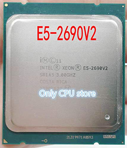 Price comparison product image for E5-2690v2 E5-2690 V2 Processor SR1A5 3.0Ghz 10 Core 25MB Socket LGA 2011 Xeon CPU E5 2690 V2