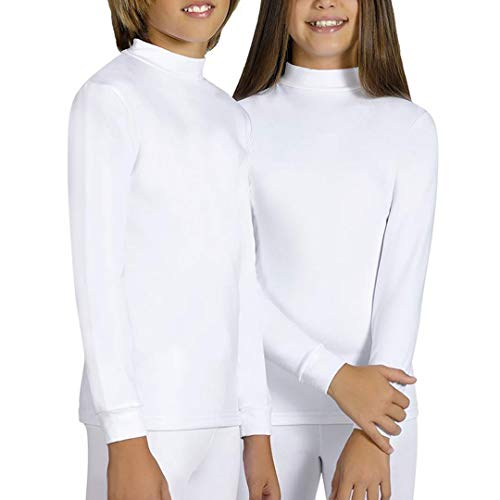YSABEL MORA - Camiseta SEMICISNE Termal Niñas Color: Blanco Talla: 16