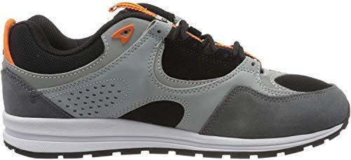 DC Shoes Herren Kalis LITE SE Skateboardschuhe, Mehrfarbig (Black/Orange Bo1), 44 EU