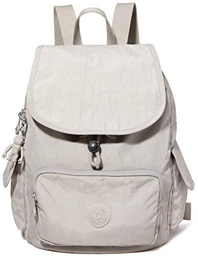 Kipling City Pack S, Backpacks Donna, Grigio, 19x27x33.5 cm