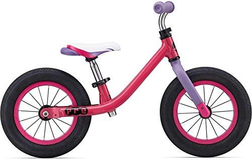 Giant Push Bike - Bicicleta sin pedales para niña, morado, rosa, fucsia, aluminio