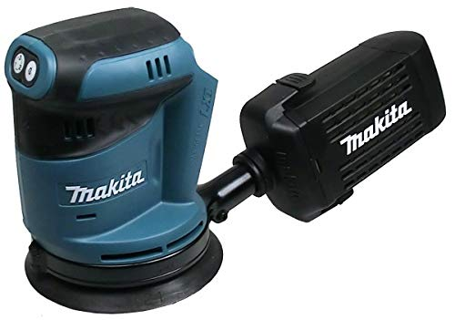 Makita DBO 180 M1 18 V Li - Ion Akku Exzenterschleifer + 1x Akku 4,0Ah - ohne Ladegerät