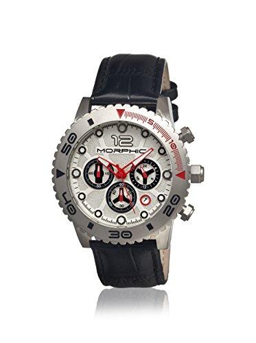 Morphic Uhr mit Japanischem Quarzuhrwerk Mph3301 schwarz 43 mm