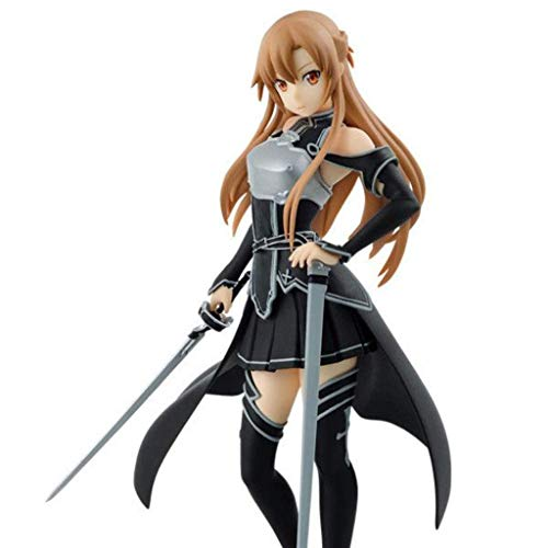 KLGZ Sword Art Online Jasna Modelo De Personaje Figurita Juguete Infantil Modelo Animado Decoración Regalo De Cumpleaños-Alto 17.5cm