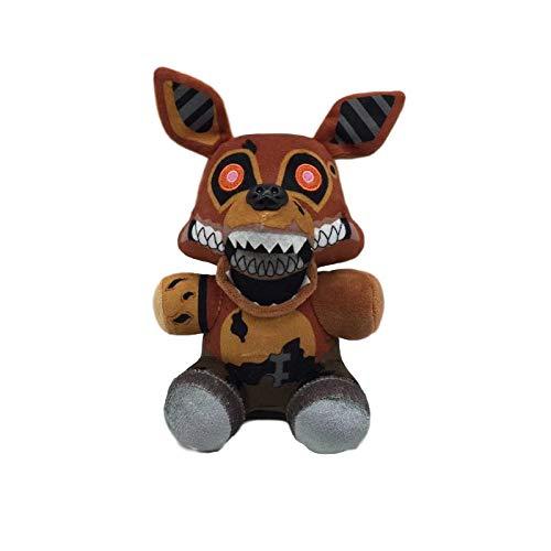 H/A (7') Puppet FNAF Plushies Springtrap - 5 Nights At Freddys Golden Freddy Plush Toys, Marionette Nightmare Bonnie Foxy Plush Shadow Twisted Chica Fazbear Stuffed - FNAF Fans Gifts For Kids Birthday