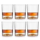 Libbey Vasos para whisky Gles - 300 ml / 30 cl - 6 piezas - alta calidad - diseño lujoso - apto para lavavajillas