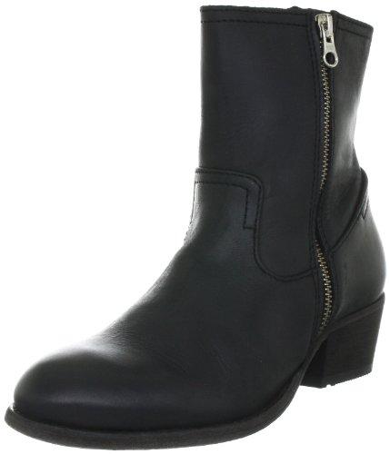 Hudson London Riley, Damen Biker Boots, Schwarz (Black), 38 EU (5 Damen UK)