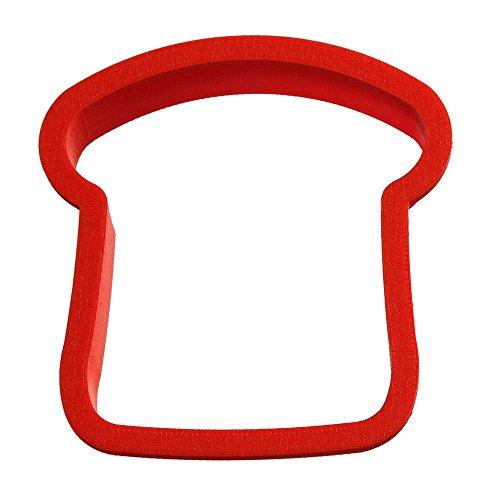 Slice of Bread Cookie Cutter 3.75 in - CookieCutterCom Cookie Cutters - USA Made
