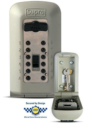 Supra C500 Sleutelkluis voor wandbevestiging buitenshuis