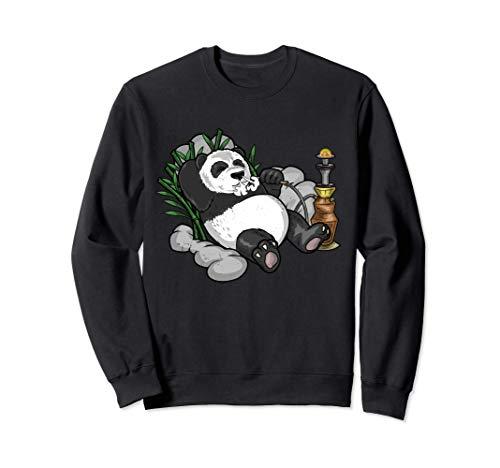 Panda Arabische Wasserpfeife Nargileh Shisha Pandabär Sweatshirt