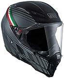 AGV 7541A2F0 Casco Moto AX-8 Naked Carbon E05 Mult, Multicolore, 11