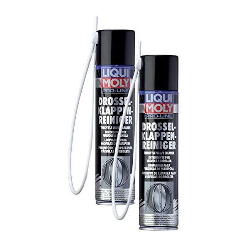 2x LIQUI MOLY 5111 Pro-Line Drosselklappen-Reiniger für Benzin Motoren 400ml