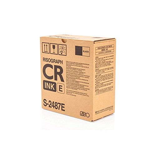 Riso S2487 tóner y Cartucho láser - Tóner para impresoras láser (20000 páginas, CR/1630, Negro) ✅