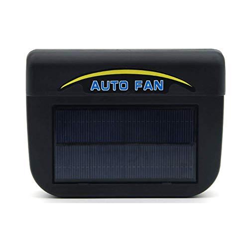 Tincocen Solar Betrieben Autofenster Windschutz Auto Lüftungsgitter Kühler Kühler Kühler Ventilator - Large