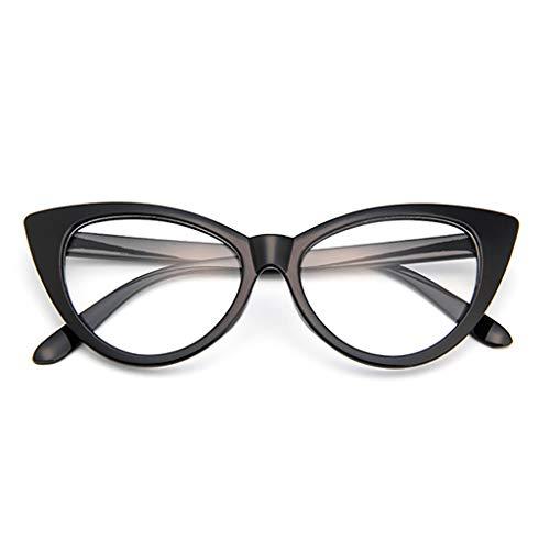 Mujer Gafas de Sol Ojo de Gato Gafas de Sol Retro Sexy Para Hombre de Verano Gafas Polarizadas con Lentes de Color Resistentes a Los Rayos UVDeportes al Aire Libre Vacaciones Playa