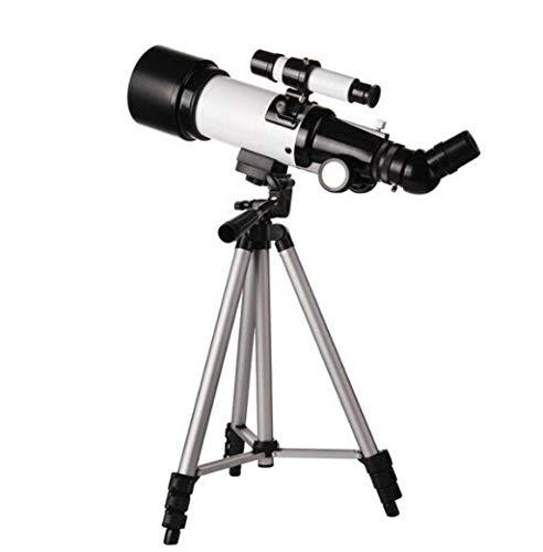 ZTYD Telescopio astronómico, monocular Reflectante, telescopio Estelar óptico erecto de 45 ° Grado con trípode para Ajuste de 360...