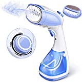Godmorn Handheld Steamer for Clothes, Garment Steamer, Stepless Adjustable Steam Flow Mini Travel Steamer, Vertical & Horizontal Use Portable Fabric Wrinkle Remover with Trigger Lock, Home Steam Iron