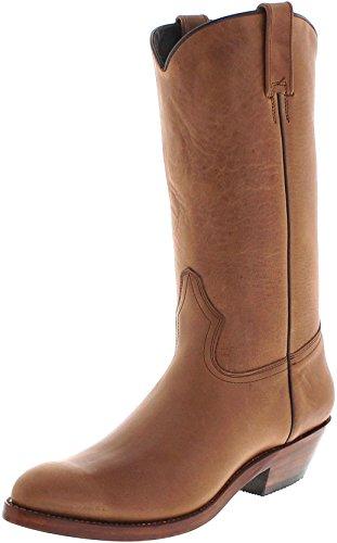 FB Fashion Boots 650 Espanol Lederstiefel für Damen und Herren Braun Westernstiefel, Groesse:45