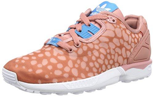 adidas Originals ZX Flux Decon B34030, Damen High-Top Sneaker, Pink (Ash Pink S15-St/Bold Aqua/Ftwr White), EU 38 2/3