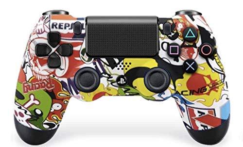 PS4 Custom UN-MODDED Controller Exklusive einzigartige Designs – mehrere Designs erhältlich CUH-ZCT2U (Sticker Bomber)