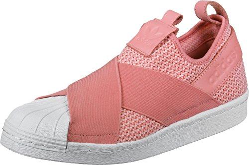 adidas Damen Superstar Slipon W Fitnessschuhe, Rosa (Rostac/Rostac/Ftwbla), 38 2/3 EU