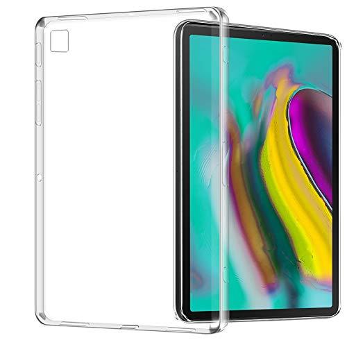 TopACE Funda para Samsung Galaxy Tab S5e, Funda Transparente Suave TPU Gel Enjaca Funda Protectora Flexible y Ligera para Samsung Galaxy Tab S5e (Transparente)