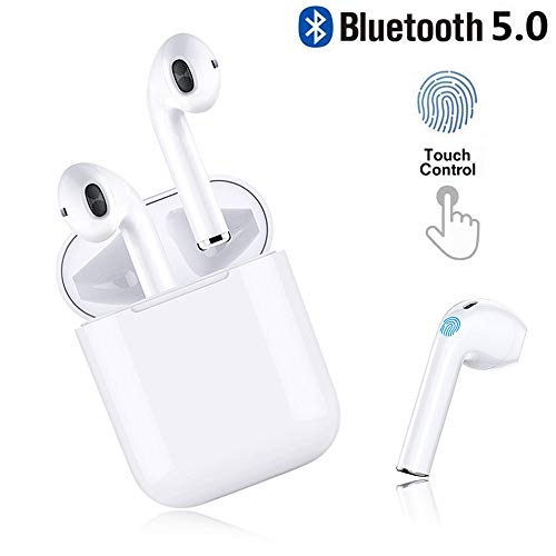 Preisvergleich Produktbild CBBH Bluetooth Kopfhörer,  in Ear Bluetooth 5.0 Headset Stereo-Minikopfhörer Sport Kabellose Kopfhörer mit Portable Mini Ladekästchen und Integriertem Mikrofon für Apple Airpod Android iPhone