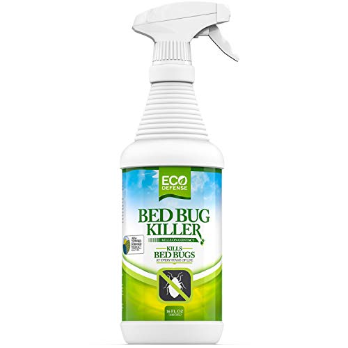 Eco Defense Bed Bug Killer, Natural Organic Formula Fastest, 16 oz.