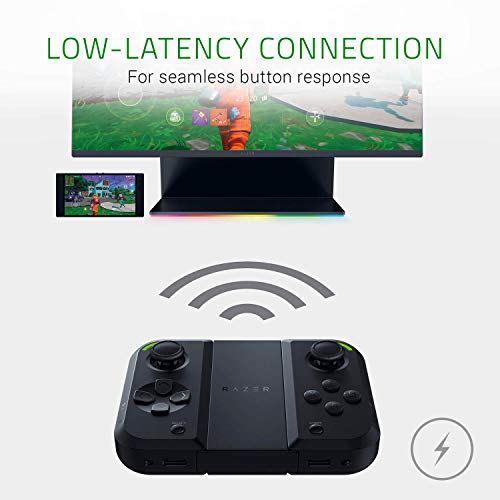 Razer Junglecat: Mobiler doppelseitiger Gaming-Controller für Android (Modulares Design, Mobile Gamepad App, Bluetooth mit niedrigen Latenzen) für Razer Phone 2,Huawei P30 Pro und Samsung Galaxy S10+ - 6
