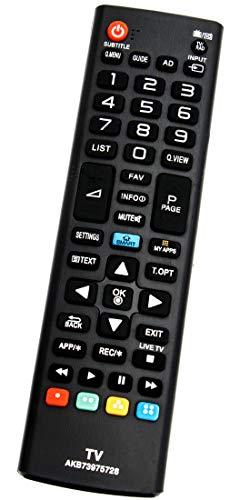 ALLIMITY AKB73975728 Fernbedienung Ersatz für LG 3D TV 32LB580VZMBEKW 32LN570 39LN5758 42LB570 42LN570 47LN570 49UB820 50LB570 50LB580V 55LA965 55LB570 55LN5758 60LB580