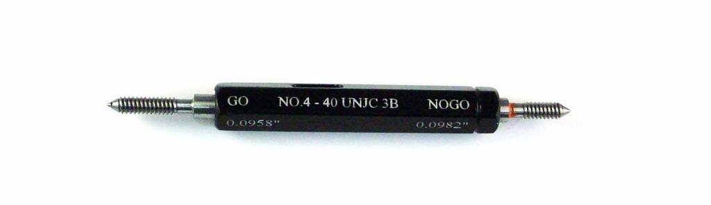 #4-40 Finally popular brand UNJC Class 3B Taperlock Thread Set Plug Gage 2021 spring and summer new