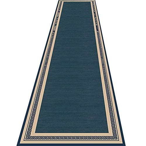 ZRUYI Tappeti Runner Tappeto Passatoia Corridoio Carpet Stile Giapponese Tinta Unita Tappeto Lungo Corridoio Capezzale Ingresso, Taglia Personalizzabile (Color : A, Size : 0.8x3m)